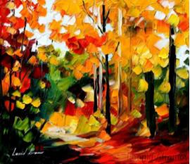 O outono pelo olhar do artista Leonid Afremov. Confira!