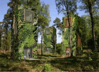 """Imagine viver com nada além de verde em torno de você"""", diz o arquiteto holandês Raimond de Hullu. O Projeto, por motivos óbvios, se chama OASIS. Confira!"""