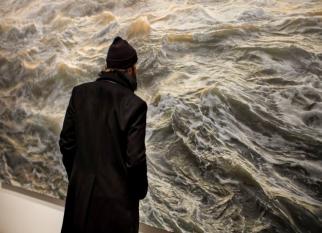 As ondas impressionantemente reais nas telas do artista americano Ran Ortner. Confira!
