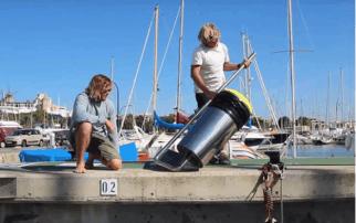 SEABIN, tecnologia desenvolvida por dois surfistas australianos, para recolher o lixo do oceano.  Confira!