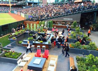 Frutas, legumes, verduras e flores cultivadas de forma sustentável no estádio do San  Francisco Giants, time de baseball americano. Confira!