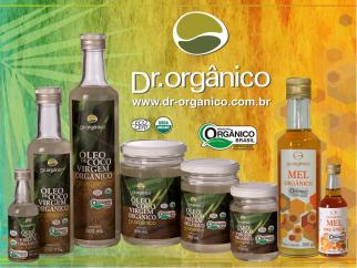 """""""Dr. Orgânico"""", comercializa produtos saudáveis tanto para o planeta quanto para o ser humano. Com qualidade certificada pelos mais respeitados órgãos mundiais, os produtos importados e exportados por esta empresa 100% Brasileira trazem o sabor do presente, com o olho no futuro."""