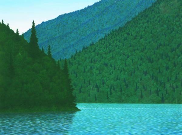 Mountain Lake, Philip Sybal