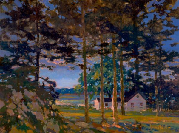 Cottage Sunset, James Hilld