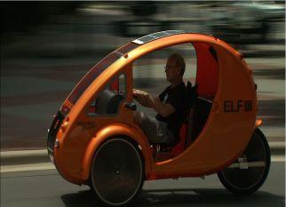 ELF, a bicicleta elétrica com teto solar. Confira!
