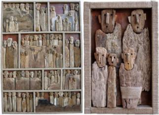 Lindas obras utilizando madeiras descartadas de Marc Bourlier