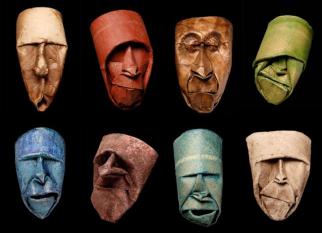 Você já imaginou que rolos de papel higiênico poderiam se transformar nessas máscaras tão simpáticas? Confira!