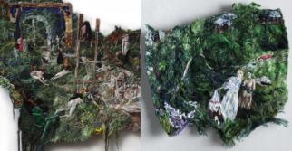 A natureza e a fantasia nos bordados da artista Sophia Narret. Confira!