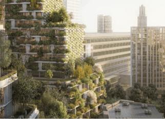 Projetada para absorver de 5,4 toneladas de dióxido de carbono, o novo projeto urbano de Florestas Verticais do arquiteto Stefano Boeri Architetti, em Utrecht, na Holanda.  Confira!