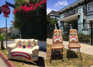 O artista conhecido como Lonesome Town, vai dando vida nova a objetos que são descartados nas ruas de Los Angeles.  Confira!