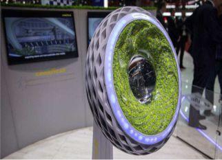 Pneu desenvolvido pela Goodyear incorpora musgo vivo para melhorar a qualidade do ar! Confira!