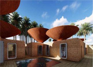 Desenvolvido para ambientes muito áridos, esses telhados em forma de taça, são mais eficientes na coleta e armazenamento de água de chuva. Confira!