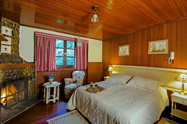 Interior do Chalé 1