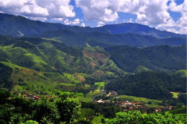 Vila de Maringá. (Foto: Juliana Melo)
