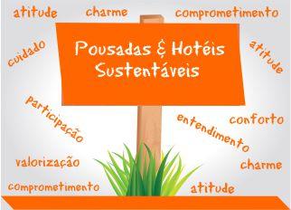 Pousadas e hotéis sustentáveis